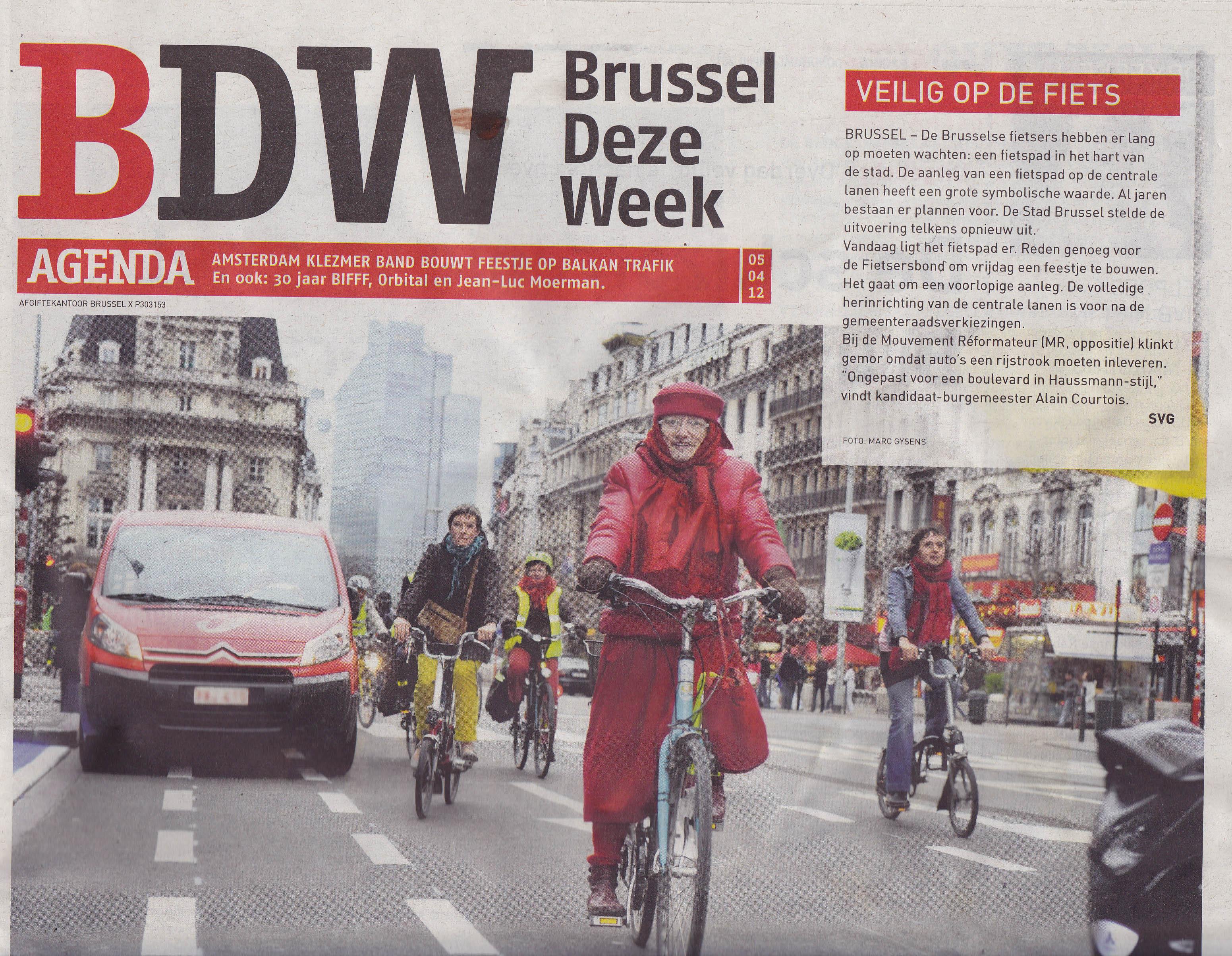 Une de Brussels Deze Week