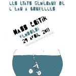 Masse critique d'avril 2011: Les cyclistes se jettent à l'eau